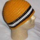 Hand Crochet ~ Sweet Steeler Beanies - I