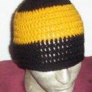 Hand Crochet ~ Sweet Steeler Beanies - P