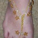 Gold Star Barefoot Sandals