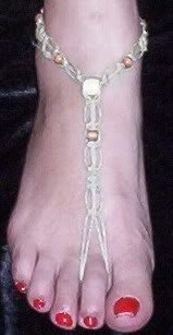 Aphrodite Barefoot Sandals