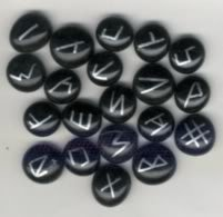 Coelbren Runes - A set of 20 runes used for divination based on an ancient alphabet.