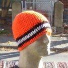 Hand Crochet ~ Men's Skull Cap Beanie Hat Harley #4
