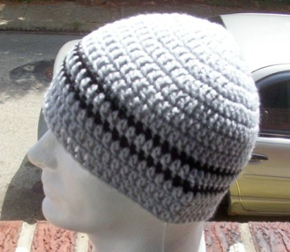 CROCHET SKULL CAPS MEN ? Only New Crochet Patterns