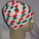 Hand Crochet Mens Cotton Skull Beanie Guido Italian