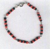 Elegua Link Necklace/Bracelet Style B 8 inches