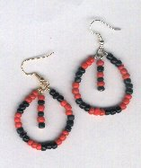 Elegua Earrings Style C