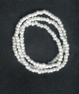 Hand Crafted Obatala Necklace/Bracelet Style A 9 inches