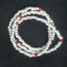 Hand Crafted Obatala Necklace/Bracelet Style B 30 inches