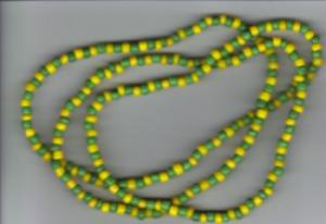 Hand Crafted Orunla Necklace/Bracelet Style A 30 inches BOGO