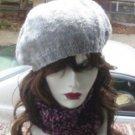 Hand Crochet Ladies Chunky Cowl Neckwarmer Dickie Goth