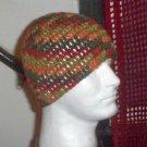 Hand Crochet Men's Skull Cap Beanie Hat Zac Brown Band - 8 inch - Harvest