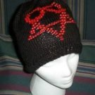 Hand Knit ~ Beaded Beanie Hats ~ Heart-A-Gram