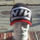 Hand Crochet NIN beanie Unisex Nine Inch Nails