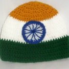 Hand Crochet Mens Beanie Flag Colors India