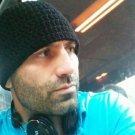 Hand Crochet ~ Men's Skull Cap Beanie Hat Royal Blue