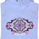 Embroidered Creative Designed Sweatshirt - Sz Sm