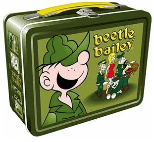 Beetle Bailey Collectible Lunch Box