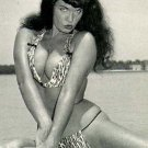 BETTIE PAGE: THE GIRL IN THE LEOPARD PRINT BIKINI
