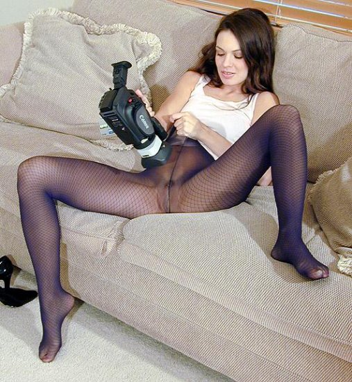 AVERY ADAMS IN PANTYHOSE