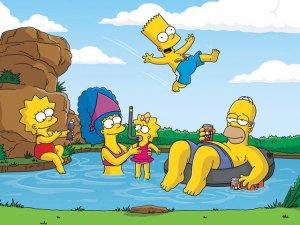The Simpson Piano Theme Music Sheet Movie Cartoon