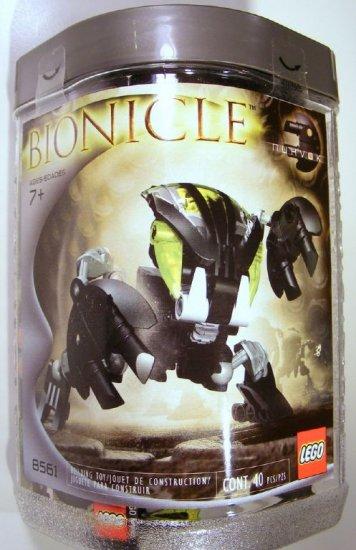 Lego BIONICLE Nuhvok 8561 2002 NEW SEALED Black D40