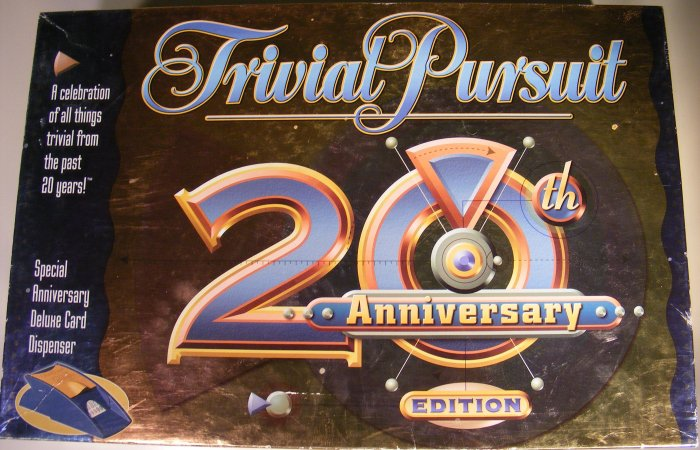 Trivial Pursuit 20th Anniversary Edition Game! Complete!