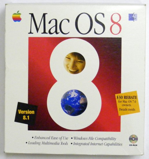 MAC OS 8.1 in Retail Box