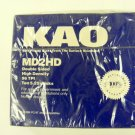 "KAO 10 5.25 "" 1.2MB Disks MD2HD High Density NEW 96 TPI"