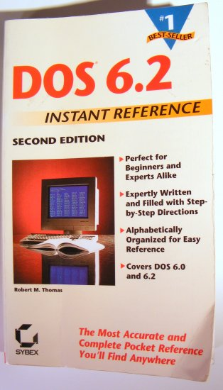 Sybex Dos 6.2 Instant Reference