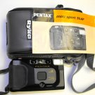 Pentax 35mm Film Camera Mini Sport Model 35AF with Flash and  Ryka Case with Manual R61