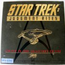 Star Trek: Judgment Rites Limited CD-Rom Collector's Edition (DOS) Case, CD's, Book Included