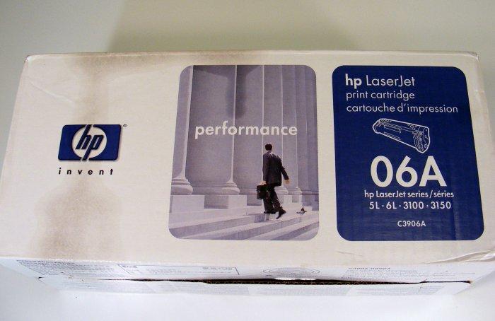 New in Box GENUINE HP 06A Toner Cartridge SEALED C3906A