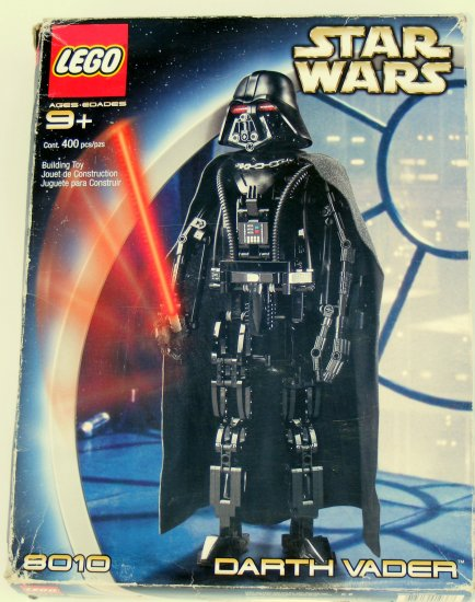 Lego Star Wars 8010 Technic Darth Vader with Box Instructions Used