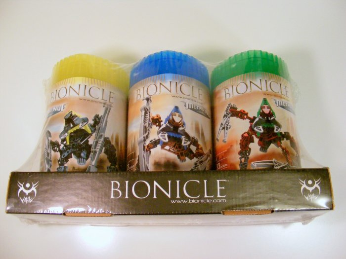 Lego Bionicle 2004 Metru Nui Holiday 3 Pack 8614 8617 8618 Sealed New NIB