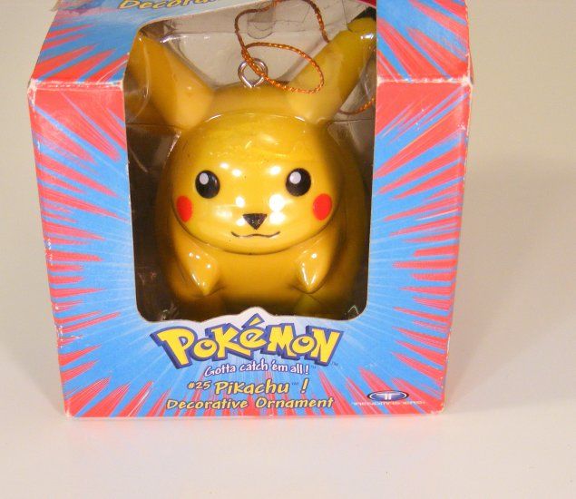 Pokemon Pikachu #25 Decorative Ornament VHTF