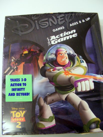Disney Toy Story 2 Action Game with Box New Sealed NIB