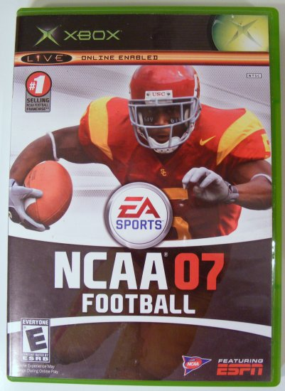 NCAA 07 Football for XBox Used