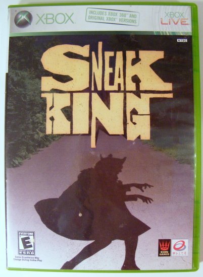 Sneak King for XBox 360 Used
