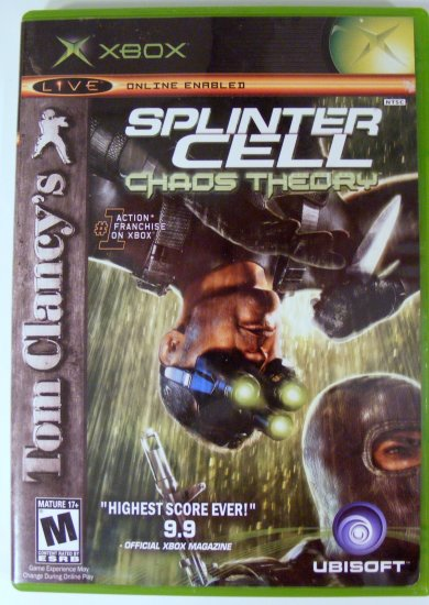 Splinter Cell Chaos Theory for XBox Used