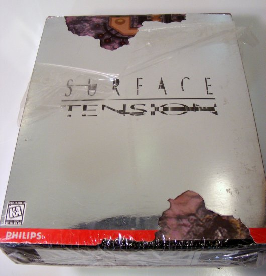 Surface Tension PC GAME with Original Box for DOS Win95