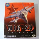 Mig-29 Fulcrum PC GAME with Original Box Win95 Novalogic Complete