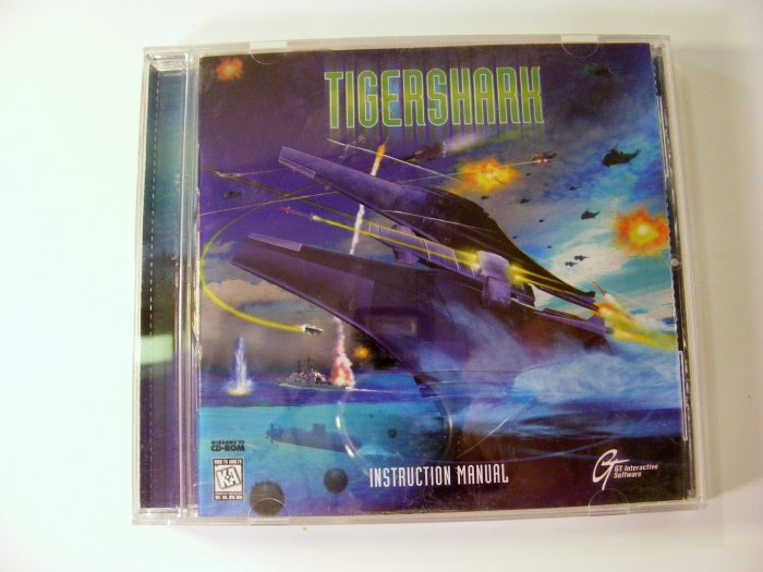 Tigershark PC GAME with CD and Manual Futuristic Submarine Game