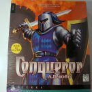 Conqueror AD 1086 PC GAME w Original Box Sierra Knight Game