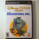 Disney Pixar Monsters Inc for PS2 Playstation 2 Used