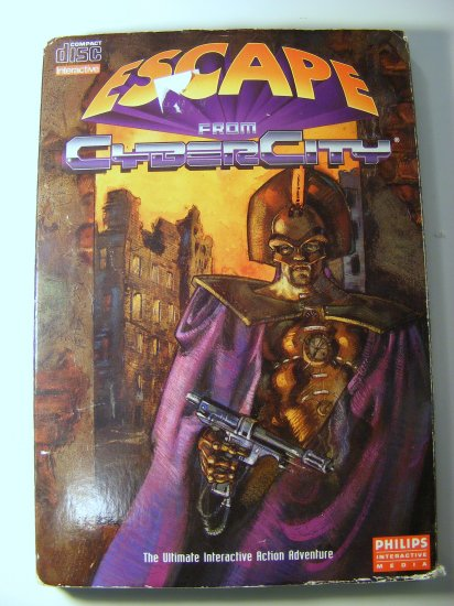 Philips Escape from Cyber City CDI GAME based Galaxy Express 999