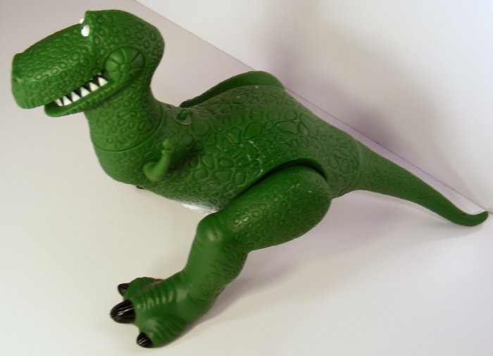 "Toy Story ""Rex"" Talking Dinosaur Original 18"" Long - RARE Thinkway"