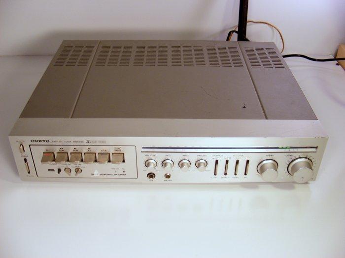 Vintage Onkyo CX-70 Receiver Deck 70 Real Watts per Channel