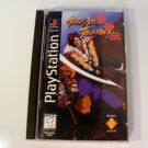 Battle Arena Toshinden Long Box Rare PS1 Playstation