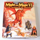 Might and Magic VI The Mandate of Heaven PC GAME w Cloth Map Original Box Boxed MM6