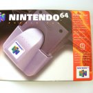 Official Nintendo 64 N64 Rumble Pak NEW IN BOX